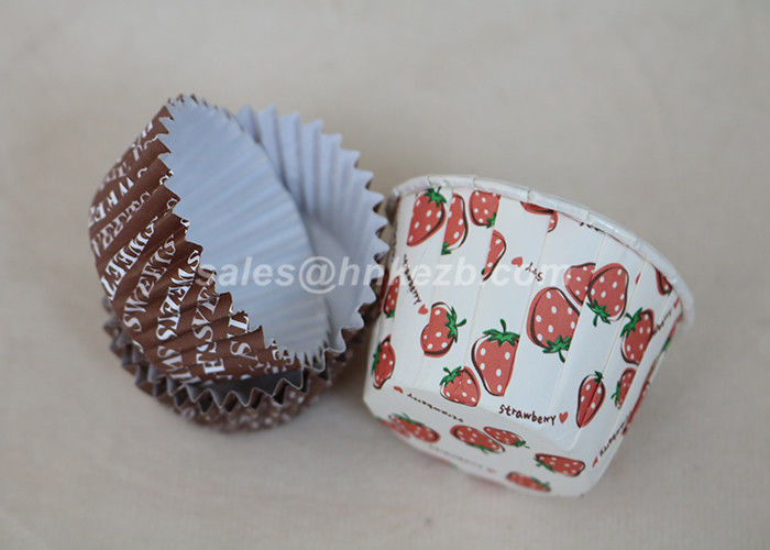 Disposable 3oz Biodegradable Paper Cups With PLA Coating For Cake / Dessert