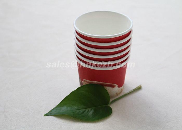 Single Wall Small Cold Drink Cups , Disposable Cold Drink Cups With Lids