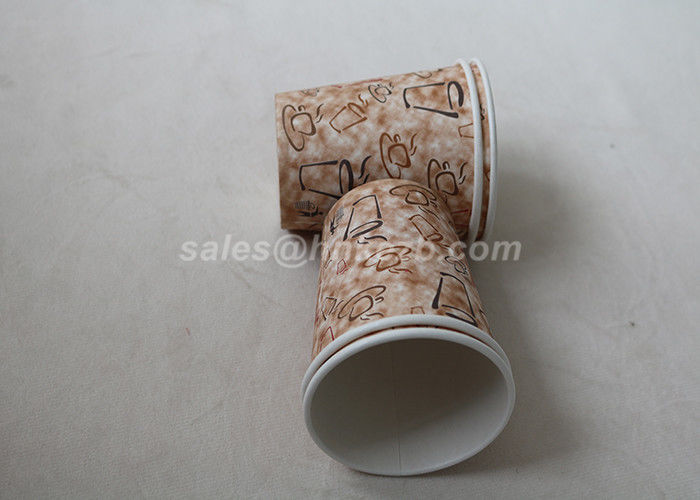 Custom Logo 16oz Disposable Insulated Coffee Cups For Hot Drinking